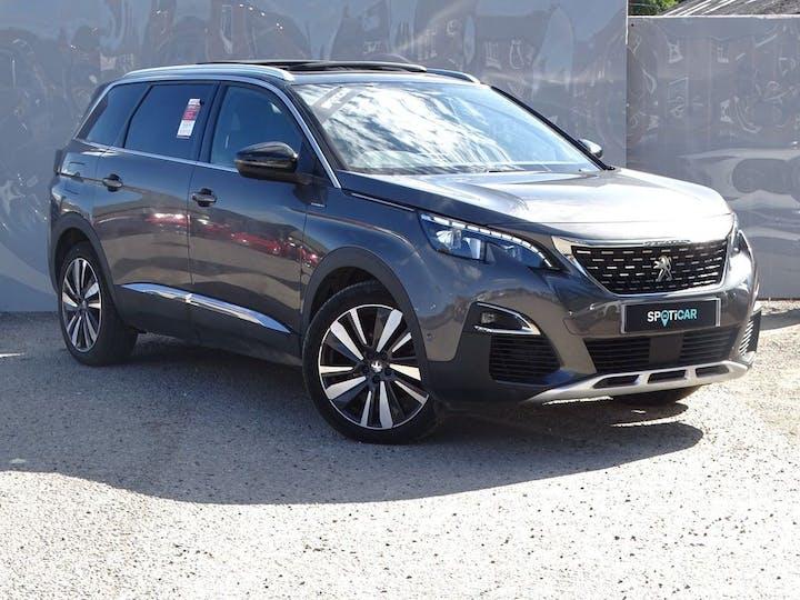 Grey Peugeot 5008 Bluehdi S/S GT Line Premium 2019