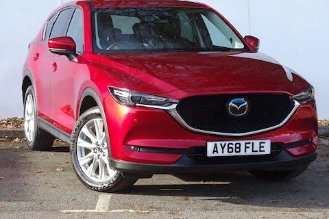 Red Mazda Cx-5 Sport Nav Plus 2018