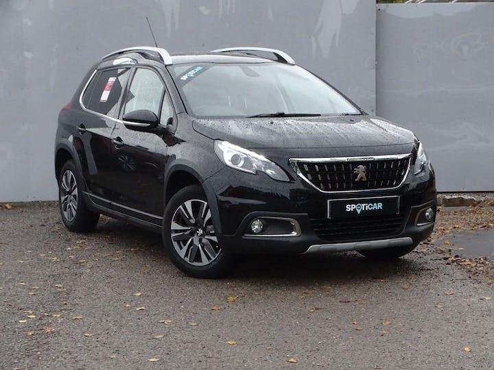 Black Peugeot 2008 Allure Premium 2018