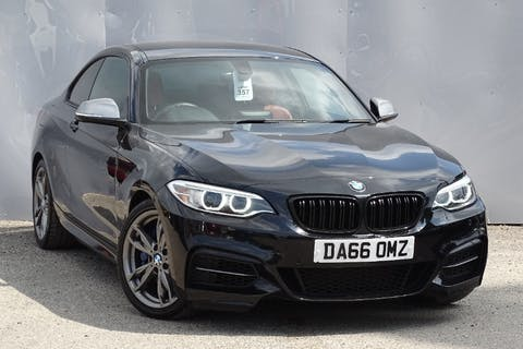 Black BMW 2 Series M240i 2016
