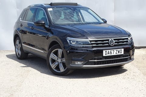Black Volkswagen Tiguan Sel TDI Bluemotion Technology DSG 2017