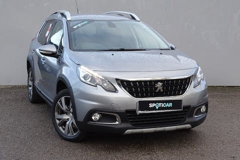 Grey Peugeot 2008 Blue HDi S/S Allure 2017