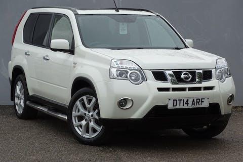 White Nissan X-trail DCi N-tec Plus 2014