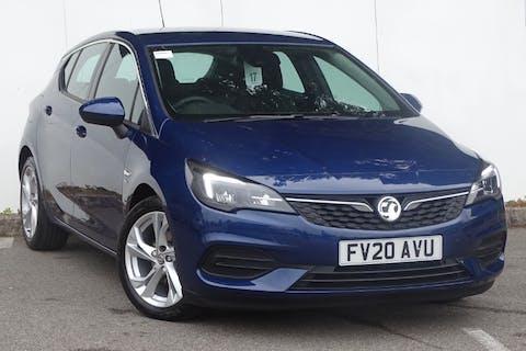 Blue Vauxhall Astra SRi 2020