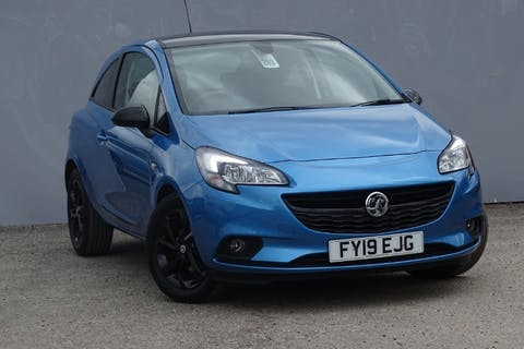 Blue Vauxhall Corsa Griffin 2019