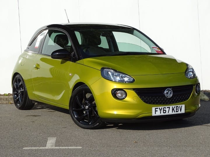 Gold Vauxhall Adam Energised 2017