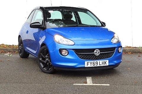 Blue Vauxhall Adam Energised 2019