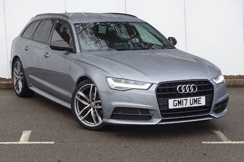 Grey Audi A6 Avant TDI Ultra Black Edition 2017