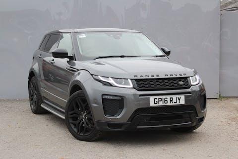 Grey Land Rover Range Rover Evoque Td4 Hse Dynamic 2016
