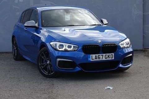 Blue BMW 1 Series M140i Shadow Edition 2018