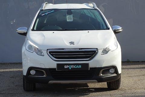 White Peugeot 2008 Allure 2015
