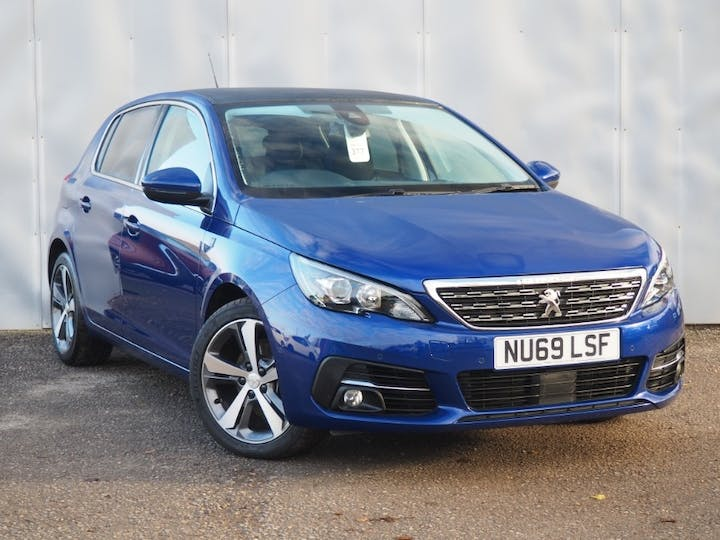 Blue Peugeot 308 Puretech S/S Tech Edition 2019