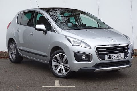Silver Peugeot 3008 Blue HDi S/S Allure 2016