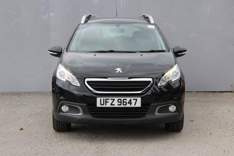 Black Peugeot 2008 Active 2014