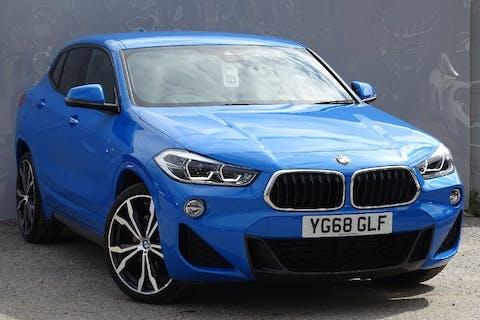 Blue BMW X2 Xdrive20d M Sport 2018