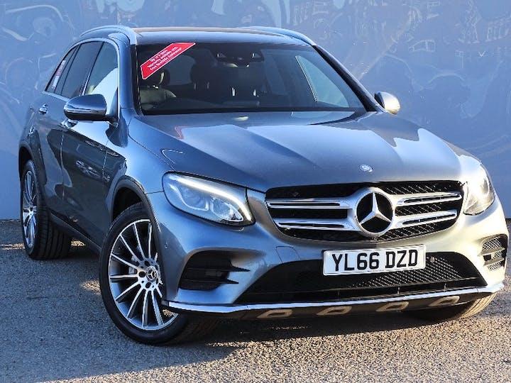 Grey Mercedes-Benz Glc-class Glc 220 D 4matic AMG Line Premium 2017