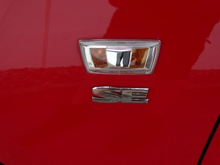 Red Vauxhall Corsa SE 2016