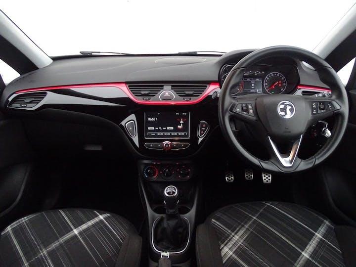 Red Vauxhall Corsa Limited Edition Ecoflex 2016