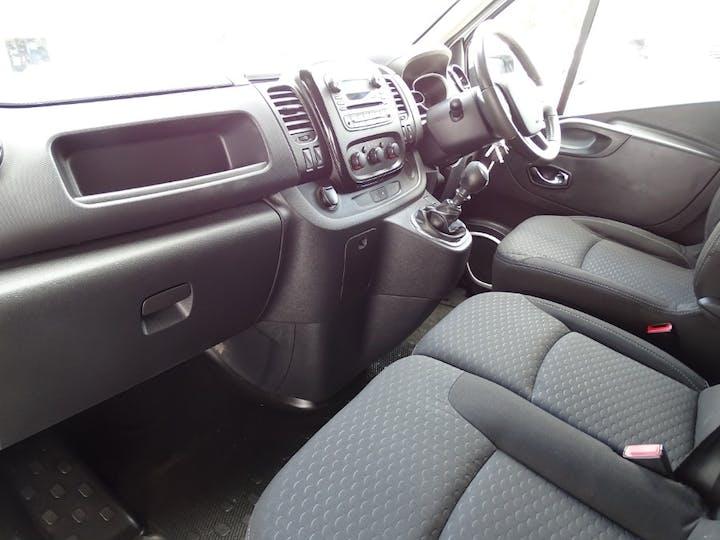White Vauxhall Vivaro 2700 L1h1 CDTi P/v Sportive Ecoflex S/S 2016