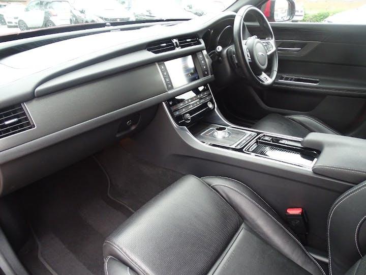 Red Jaguar Xf V6 S 2016