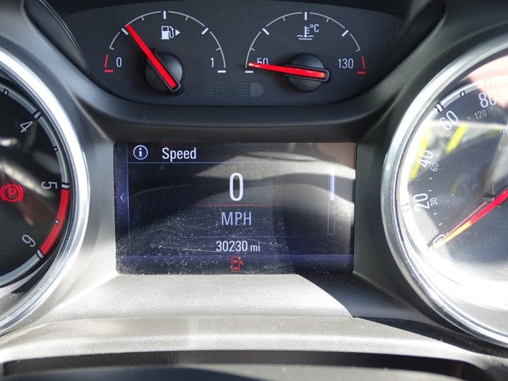 Black Vauxhall Insignia Grand Sport Tech Line Nav Ecotec 2017