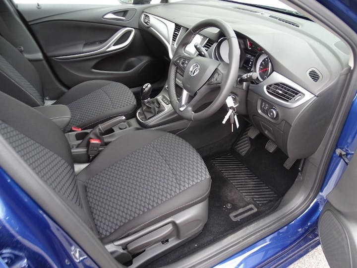 Blue Vauxhall Astra Business Edition Nav 2021