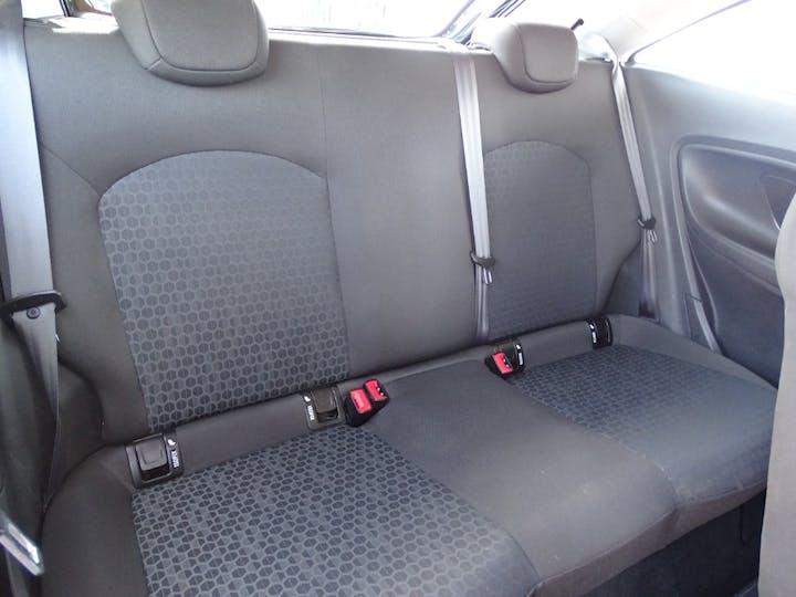 Black Vauxhall Corsa Sting 2015