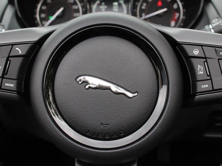 Grey Jaguar F-type V6 S 2017