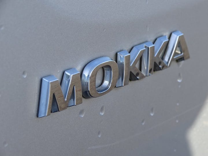 Silver Vauxhall Mokka Exclusiv S/S 2015