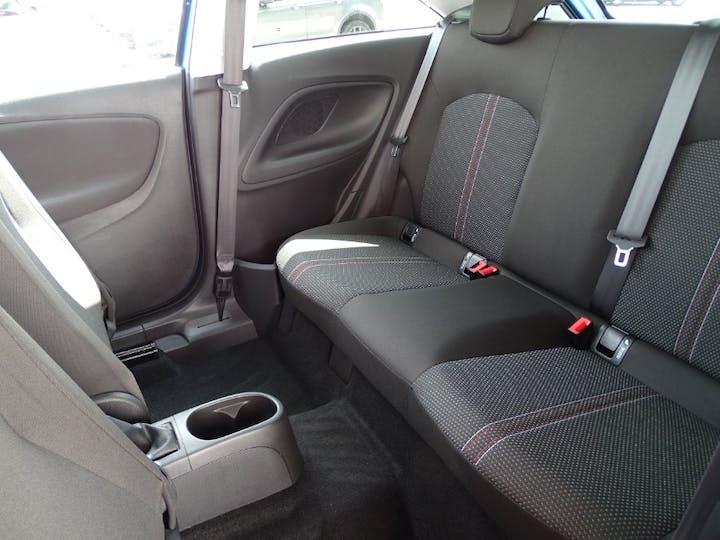 Blue Vauxhall Corsa Limited Edition 2018