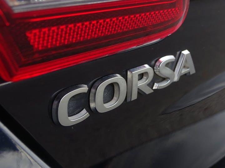 Blue Vauxhall Corsa Energy 2018