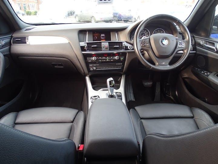 Black BMW X3 Xdrive20d M Sport 2016