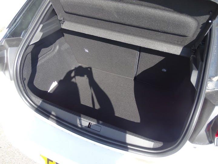 White Vauxhall Corsa SRi Nav Premium 2021