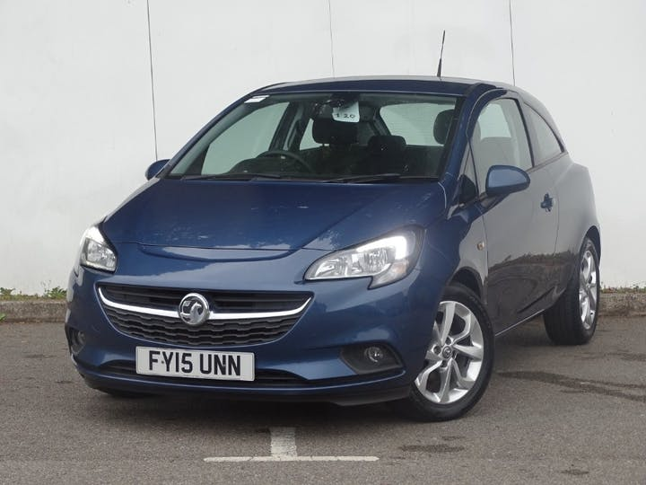 Blue Vauxhall Corsa Excite Ac Ecoflex 2015