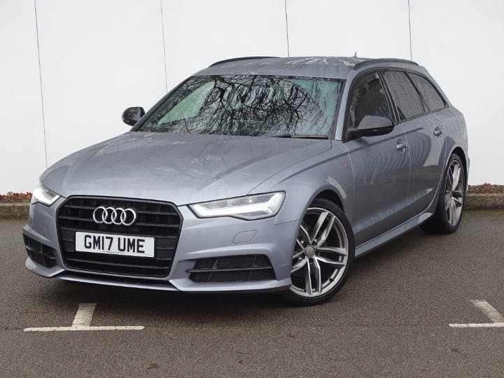 Grey Audi A6 Avant TDI Ultra Black Edition 2017