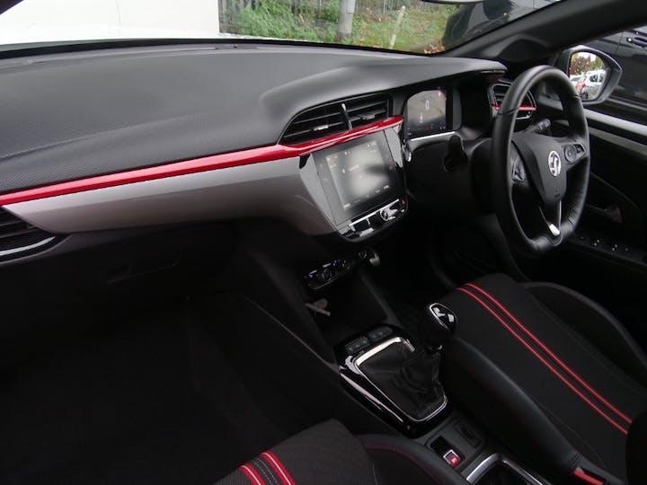 White Vauxhall Corsa SRi Premium 2020
