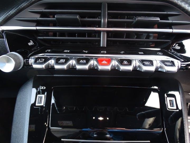 Blue Peugeot 208 GT 2020