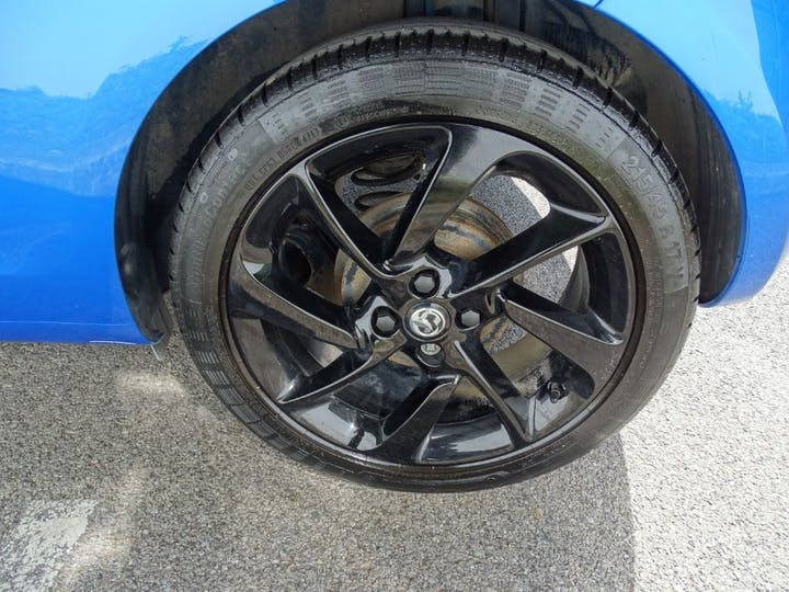 Blue Vauxhall Adam Energised Black Jack 2018