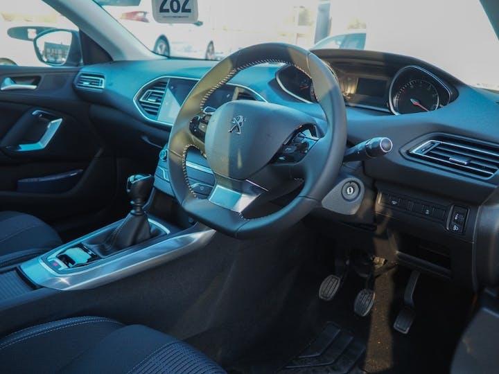 Grey Peugeot 308 Puretech S/S Allure 2020