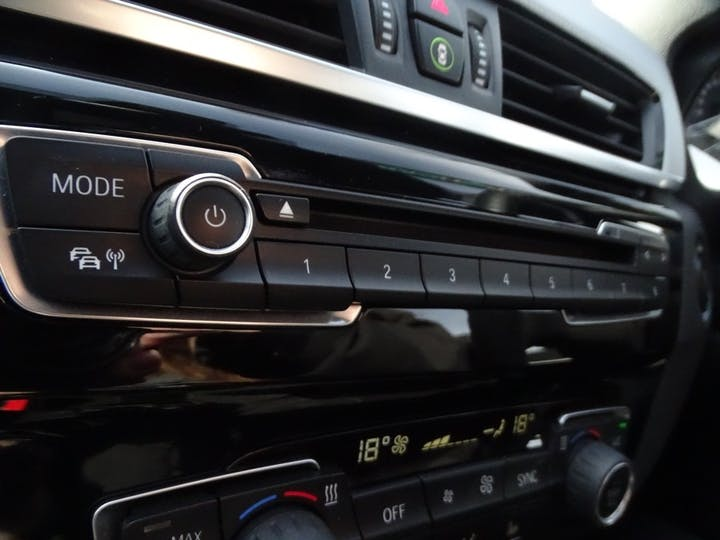 White BMW X1 Xdrive20d M Sport 2016