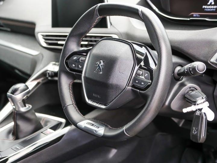Grey Peugeot 5008 Puretech S/S GT Line 2019