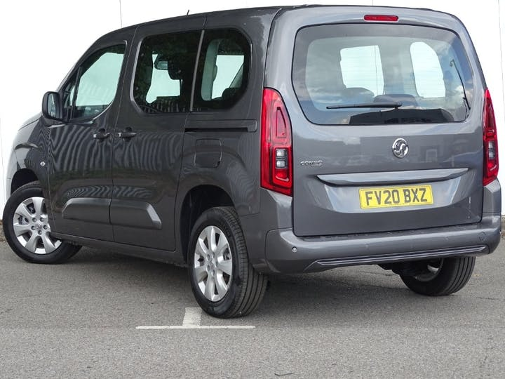 Grey Vauxhall Combo Life Energy S/S 2020