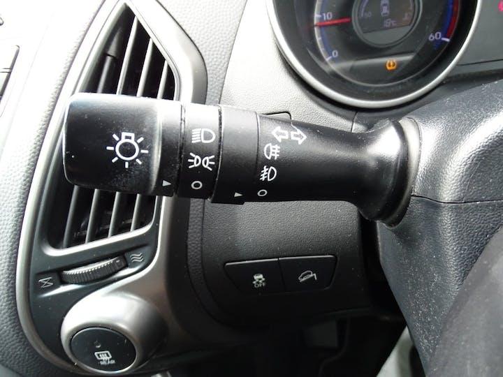 Black Hyundai Ix35 CRDi Go 2014