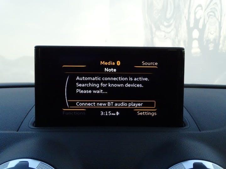 Black Audi Rs 3 Sportback Quattro 2015