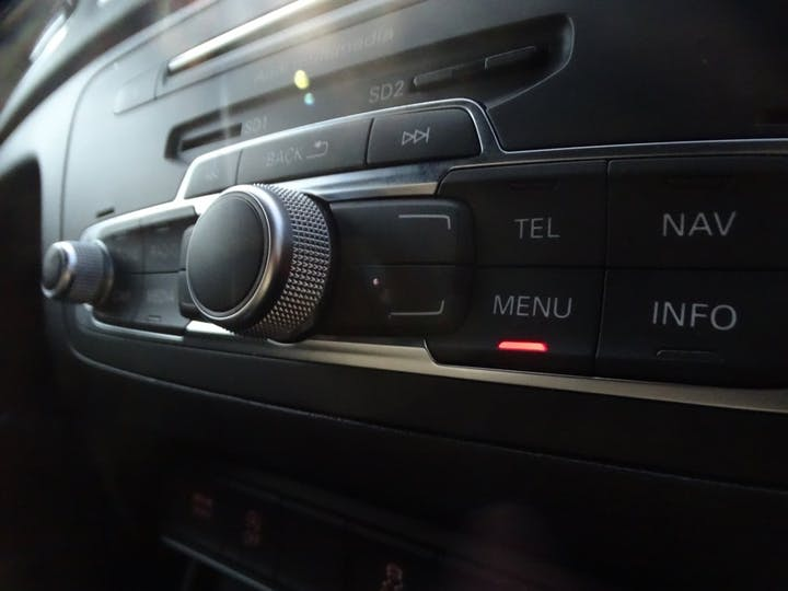 Blue Audi Q3 TDI Quattro Black Edition 2018
