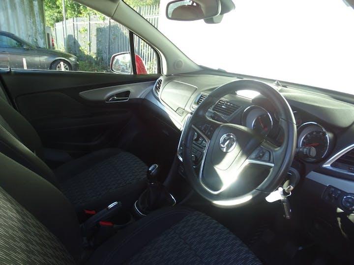 Red Vauxhall Mokka Exclusiv CDTi S/S 2017