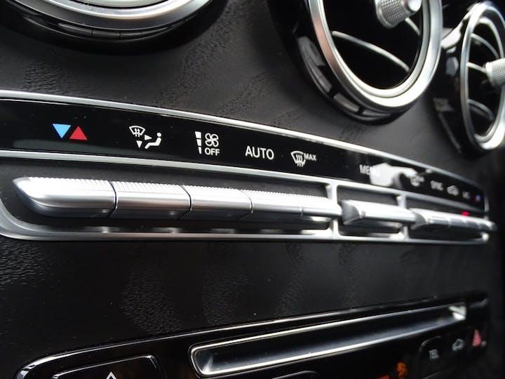 Silver Mercedes-Benz Glc-class Glc 250 D 4matic AMG Line Premium 2018