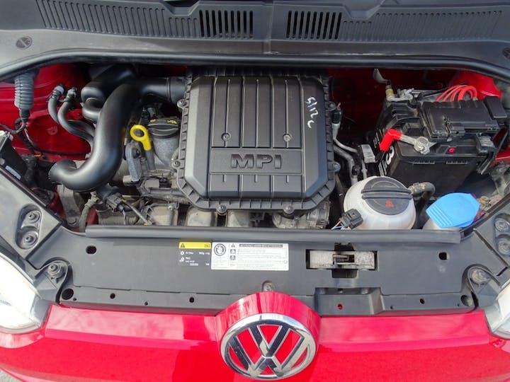 Red Volkswagen Up Move Up 2015