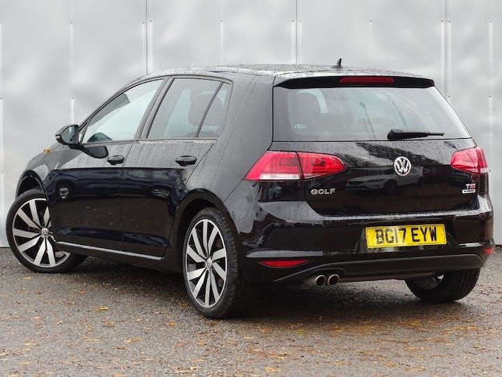 Black Volkswagen Golf GT Edition TSI Act Bmt 2017