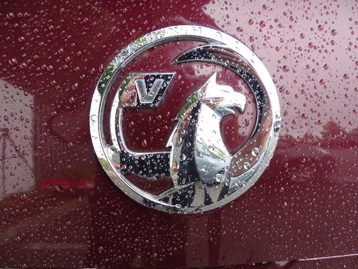 Red Vauxhall Adam Glam 2015